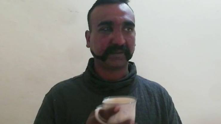 Der indische Pilot, der am Mittwoch von pakistanischen Streitkräften festgenommen worden war, ist wieder auf freiem Fuss. (Archivbild)