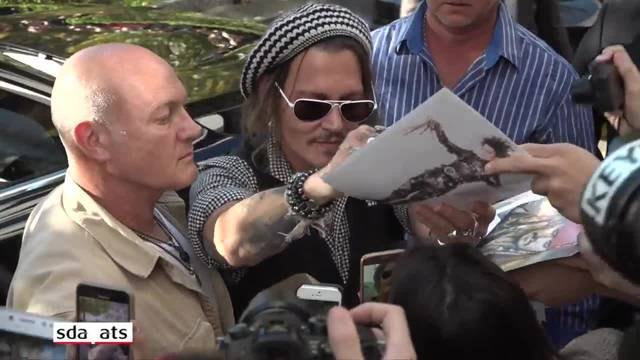 Johnny Depp-Mania am Zürcher Film Festival