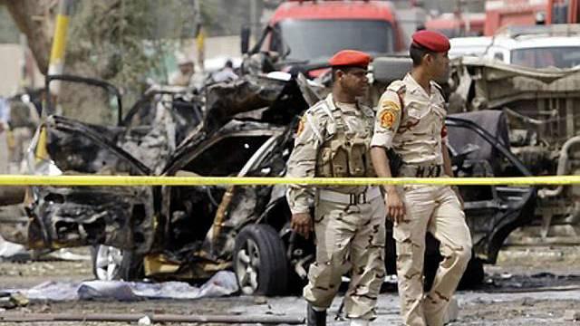 Schwere Explosionen in Bagdad