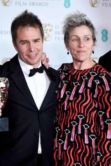 Sam Rockwell und Frances McDormand (Jeff Spicer/Getty Images)