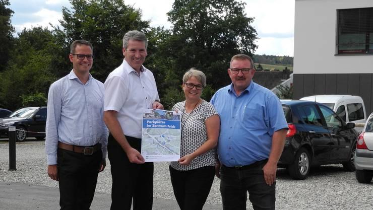Die Gemeinde Frick und das Gewerbe Region Frick-Laufenburg haben gemeinsam einen Übersichtsplan über die öffentlichen Parkplätze im Dorfzentrum erarbeitet. mf