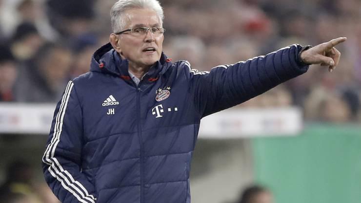 Unter Jupp Heynckes eilt der FC Bayern von Sieg zu Sieg
