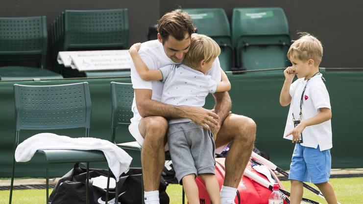 Feiern am Montag ihren fünften Geburtstag: Leo und Lenny Federer.