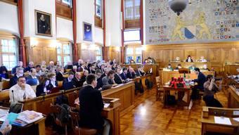 Der Kantonsrat Zürich während der Budgetdebatte. (Archiv)