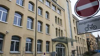 Eingangsbereich des SECO in Bern (Archiv)