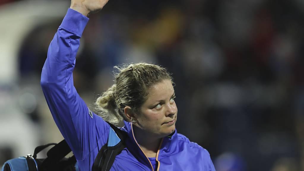Kim Clijsters zeigte bei ihrem Comeback eine respektable Leistung