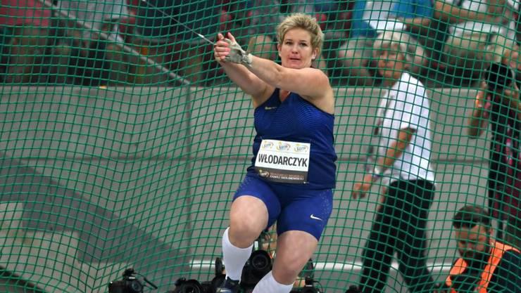Anita Wlodarczyk verbesserte den Weltrekord einmal mehr