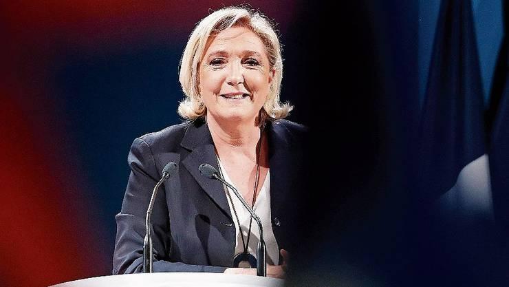 Die Rechtspopulistin Marine Le Pen.
