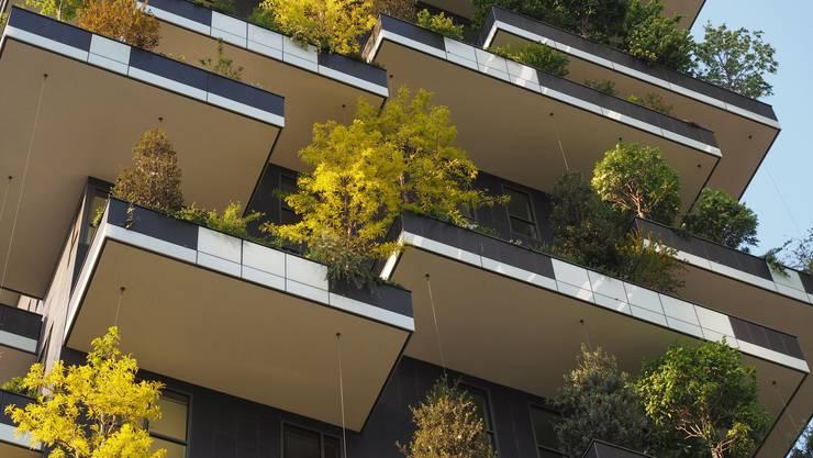 In Aesch gibt es bald hängende Gärten respektive vertikalen Wald, so wie die Hochhäuser des Projekts «Bosco Verticale» in Mailand.