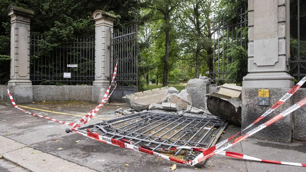 Autolenker rast auf Irrfahrt durch Zürich über Friedhof