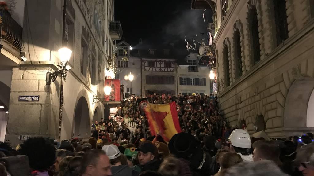 18'000 Fasnächtler feierten bis tief in die Nacht