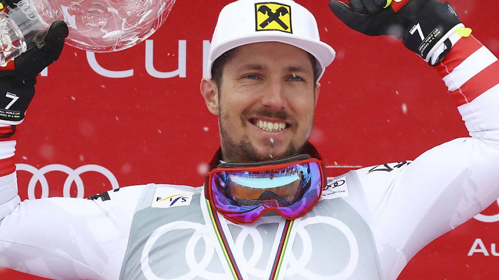 Vierter «Skieur d'Or» für Marcel Hirscher