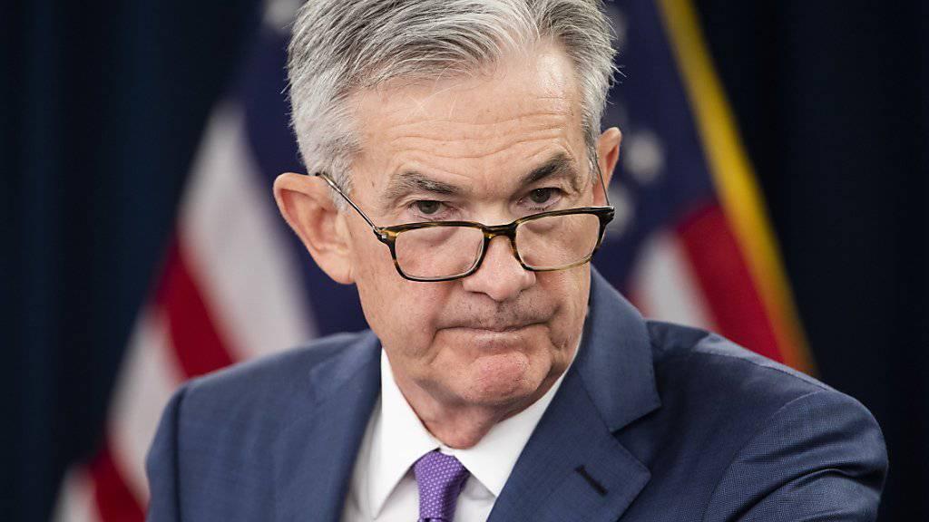 Die US-Notenbank Fed unter der Leitung von Jerome Powell plant, ein neues Echtzeit-Zahlungssystem aufzubauen. (Archivbild)
