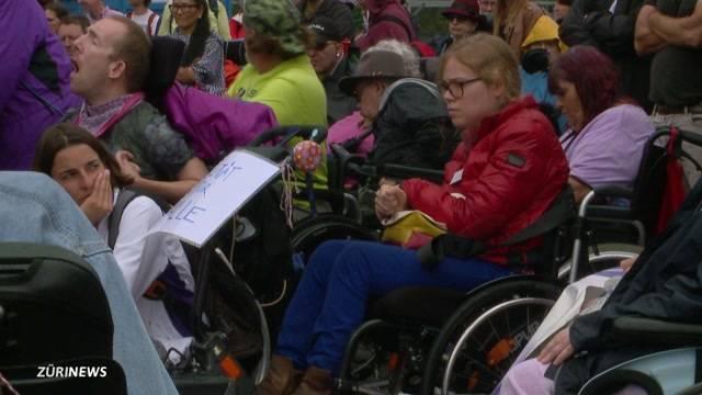 Behinderte kämpfen für ihre Bewegungsfreiheit