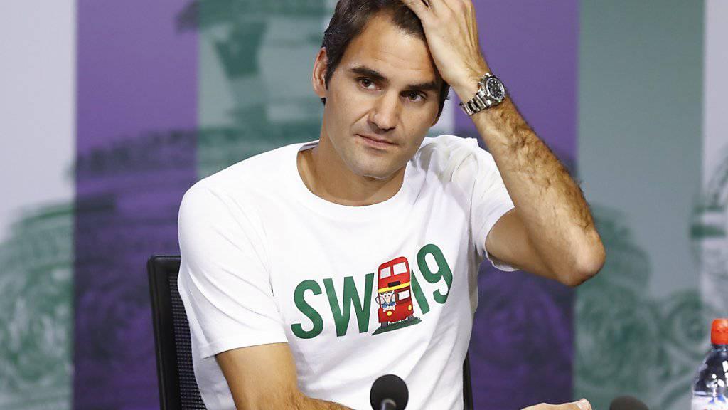 SW19 im Fokus: Roger Federer will sich in Wimbledon auf die ersten Runden fokussieren