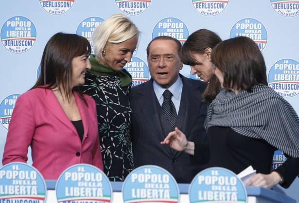 Er hat ein Faible für schöne Frauen in der Politik