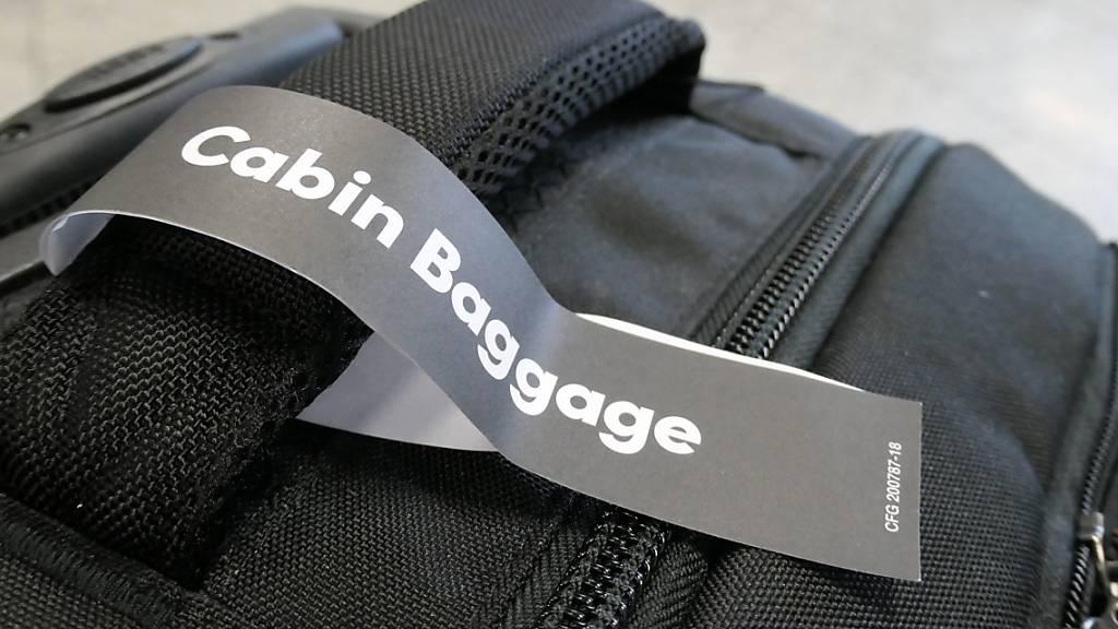 Italien verschärft Vorschriften für Handgepäck in Flugzeugen