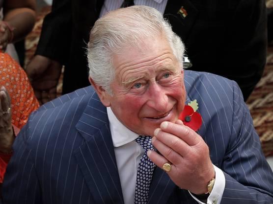 """25. März: Leichte Symptome aber sonst """"wohlauf"""": Der britische Thronfolger Prinz Charles hat sich mit dem neuartigen Coronavirus infiziert."""