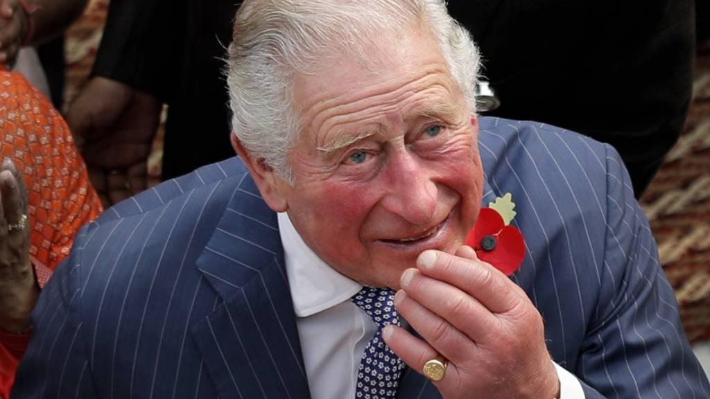 Leichte Symptome aber sonst «wohlauf»: Der britische Thronfolger Prinz Charles hat sich mit dem neuartigen Coronavirus infiziert.