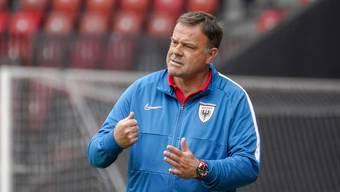 Angriffig: Trainer Patrick Rahmen will mit dem FC Aarau im Saison-Schlussspurt in die Top 4 der Tabelle