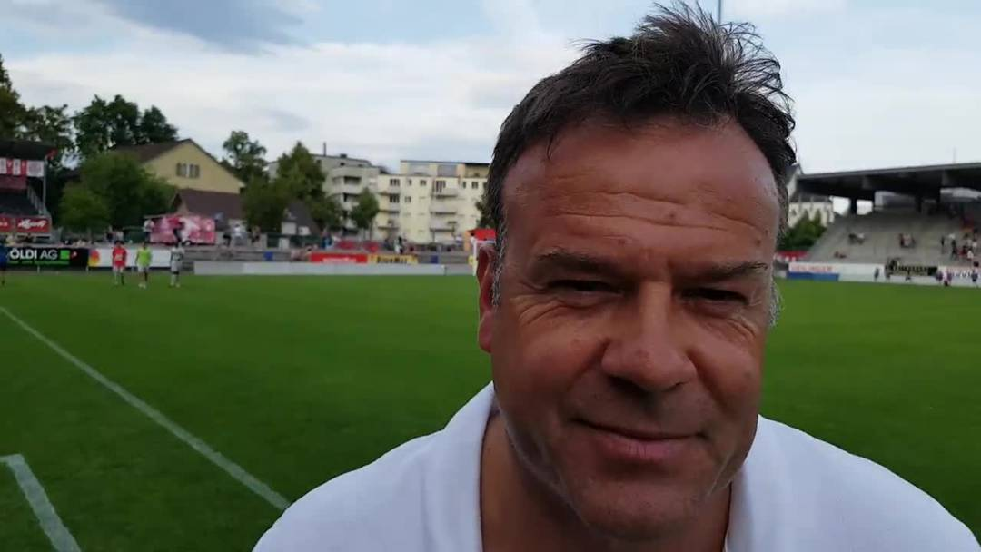 Patrick Rahmen im Interview nach dem Spiel FC Winterthur - FC Aarau