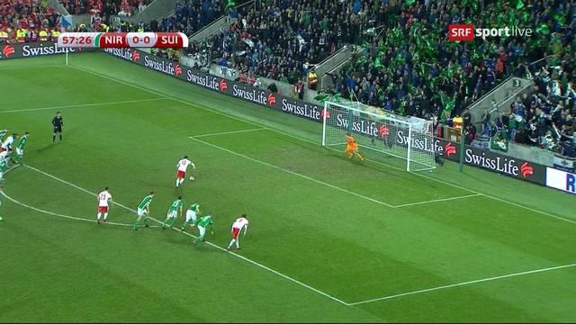 Schweizer Sieg wegen geschenktem Penalty