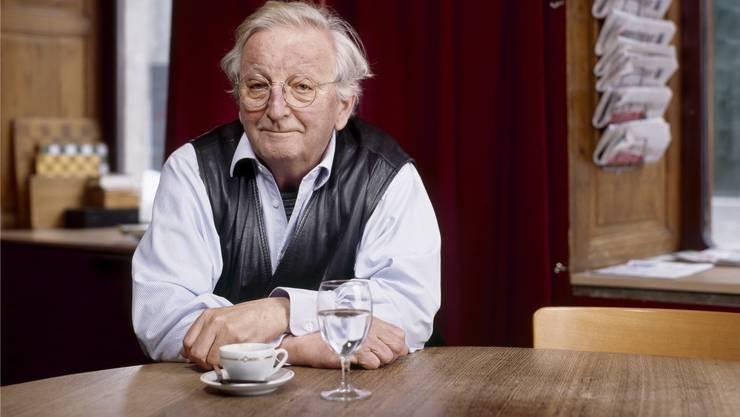 Peter Bichsel feiert seinen 80. Geburtstag in Solothurn noch einmal nach – bei viel guter Literatur.Gaetan Bally/Keystone