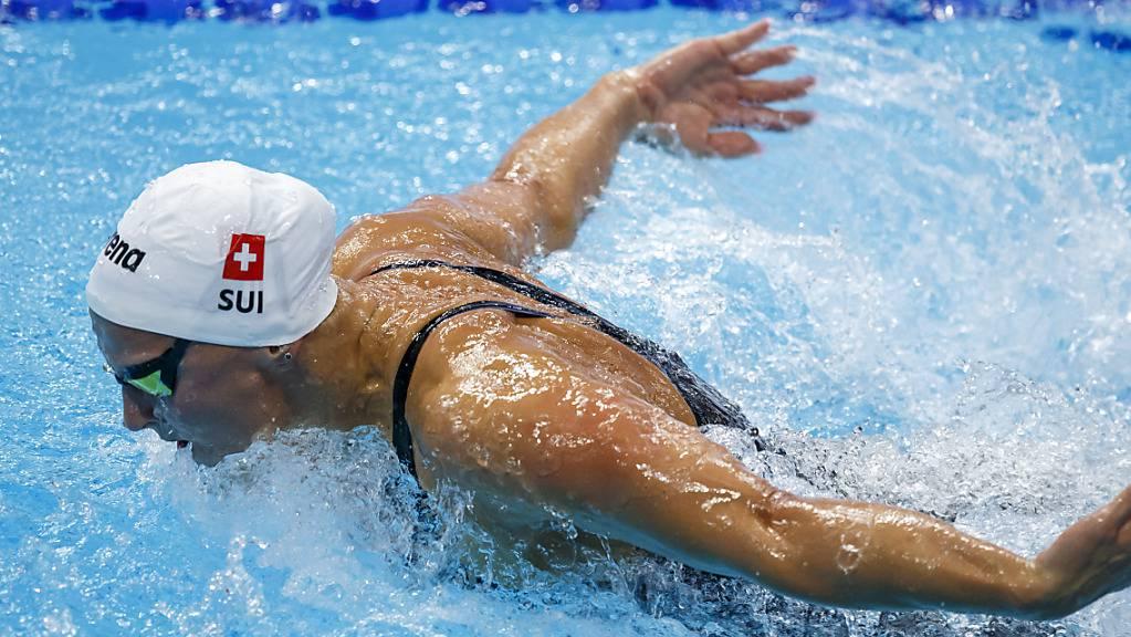 Maria Ugolkova stellt einen weiteren Schweizer Rekord auf - die Halbfinals verpasst sie trotzdem.