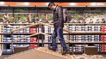 Der Absatz beim Outdoor-Schuhwerk sank letztes Jahr um 0,7 Prozent.