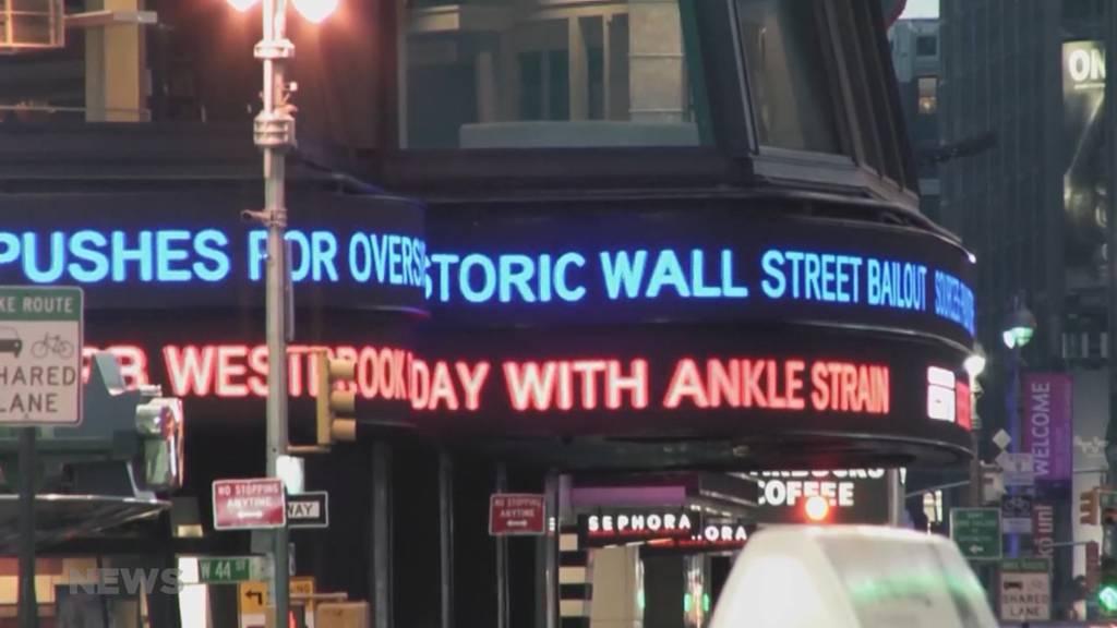 Schwarzer Tag für die Börse
