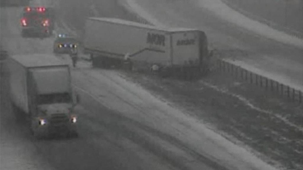 Schnee-Chaos in den USA: Autounfälle und Stromausfälle