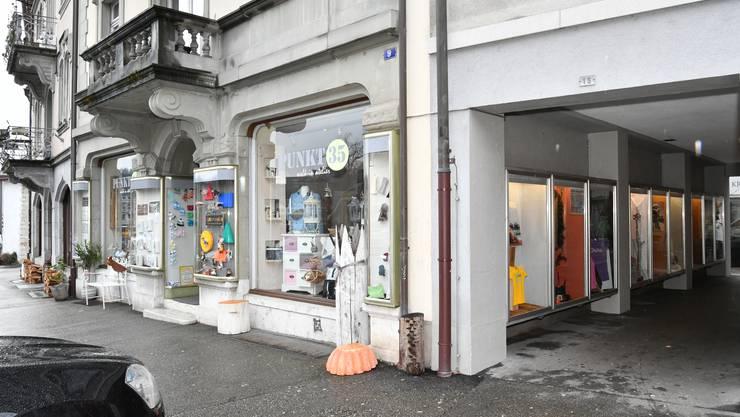 Das Kaufhaus Klosterplatz war jahrelang in diesem Ladenlokal beheimatet.