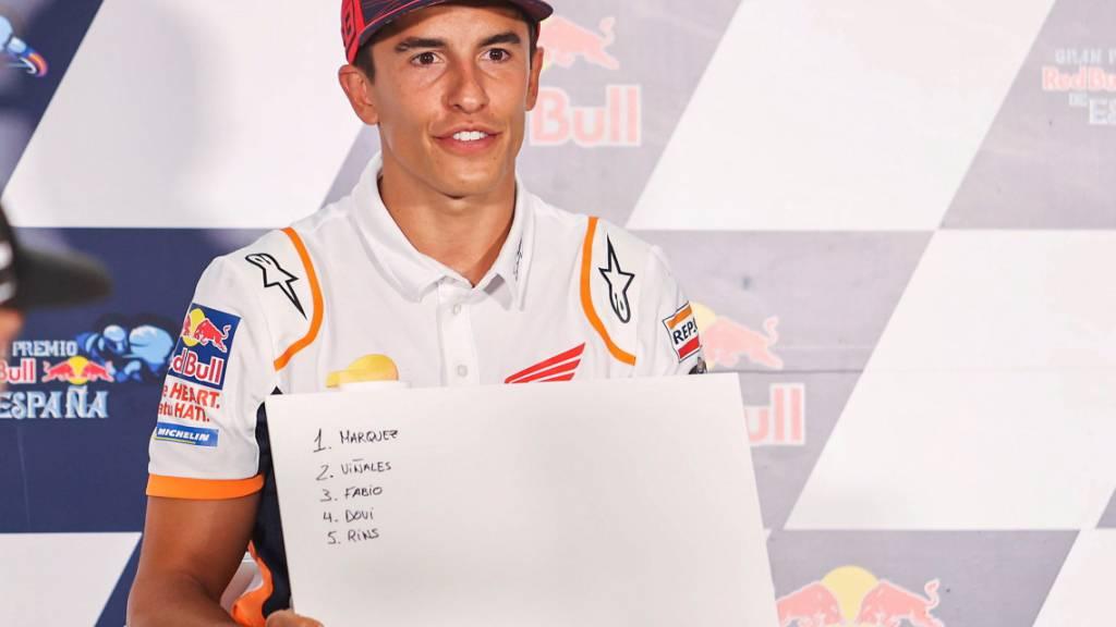 Marquez will eine Woche nach Armbruch am Grand Prix in Jerez starten