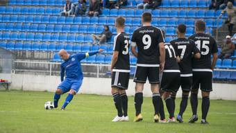 Die Spieler des FC Bellach scheiterten früh.