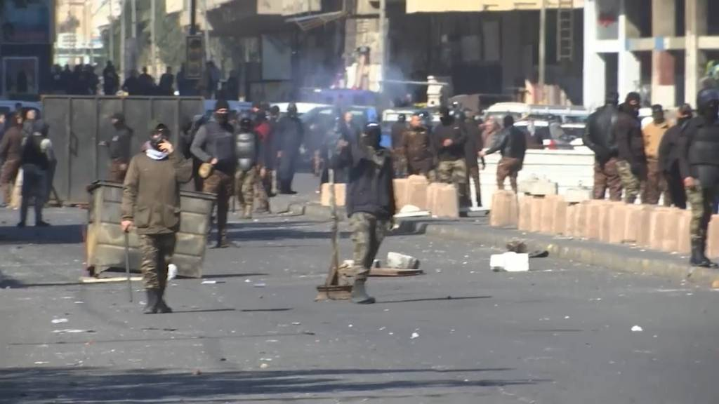 Spezialkräfte gegen Demonstranten: 30 Verletzte