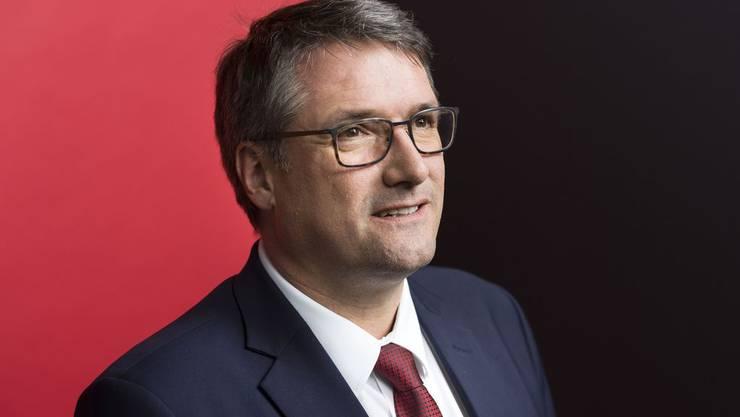 Christian Levrat, SP-Präsident.