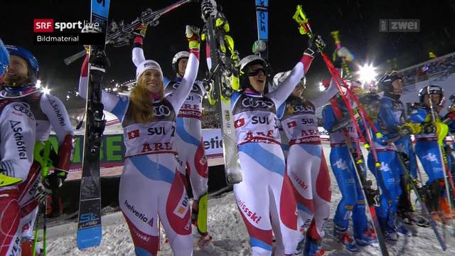 WM-Gold für Schweiz im Team-Event