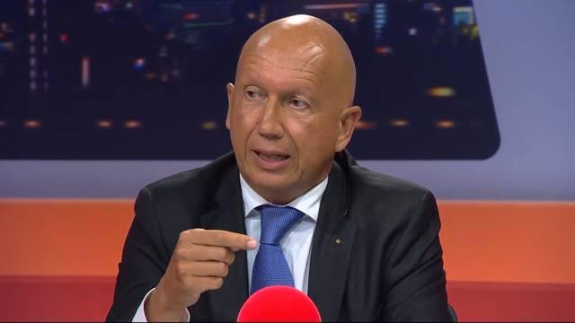 «Selbstverständlich haben wir ein Sanierungskonzept»: KSA-VR-Präsident Funk wehrt sich gegen die Vorwürfe von SVP-Glarner.