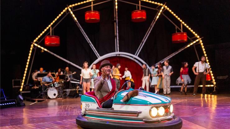 2019 ist ein erfolgreiches Jahr für den Direktor Johannes Muntwyler und die Artisten des Circus Monti aus Wohlen. Bild: Severin Bigler