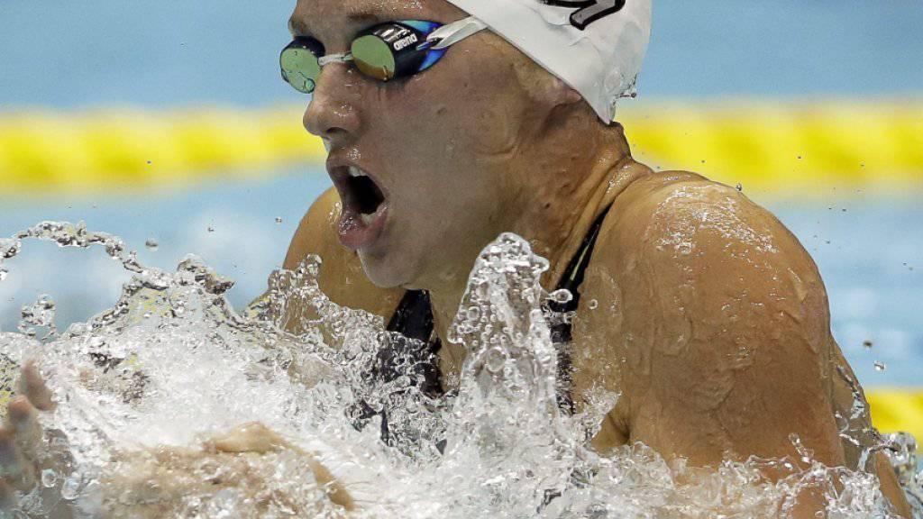 Katinka Hosszu war über 400 m Lagen eine Klasse für sich