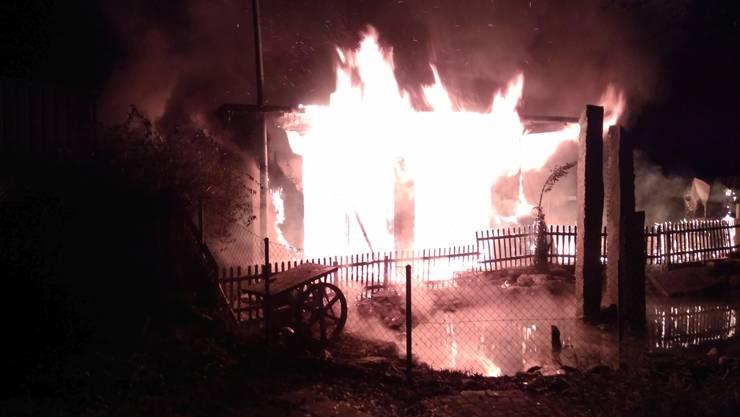 Am späten Montagabend brach im Restaurant «Mi Casa Loca» an der Duriolstrasse in Villmergen ein Brand aus.