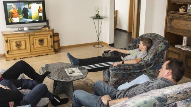In der Schweiz ist der Fernsehkonsum gesunken