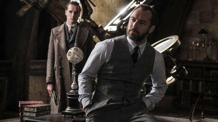 """Das Fantasy-Epos """"Fantastic Beasts: The Crimes of Grindelwald"""" hat am Wochenende vom 22. bis 25. November 2018 am meisten Filmfans in die Schweizer Kinos gelockt. (Archivbild)"""