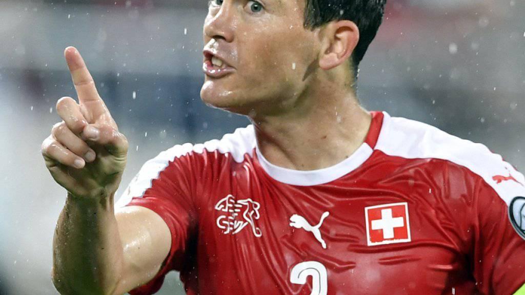 Will in Lissabon den letzten Schritt an die WM 2018 gehen: SFV-Captain Stephan Lichtsteiner