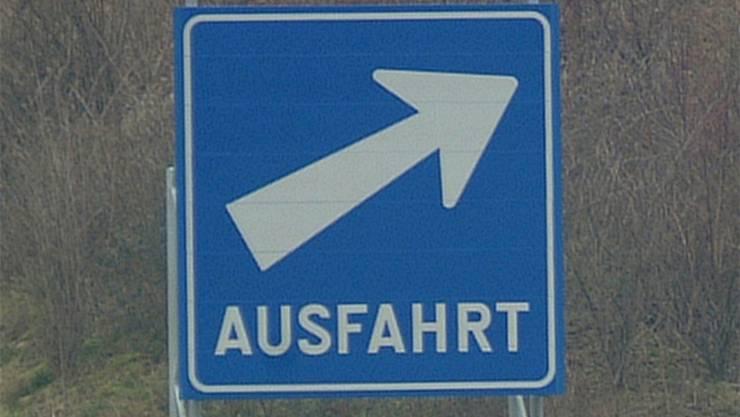 Zukunftsmusik: Eine Autobahnausfahrt Derendingen-Subingen?