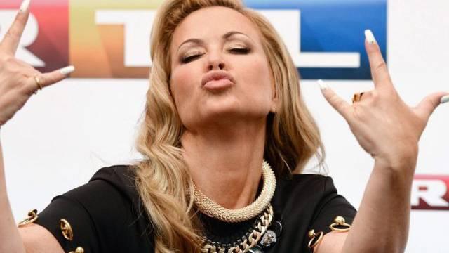 US-Sängerin Anastacia ist derzeit in Deutschland präsent (Archiv)