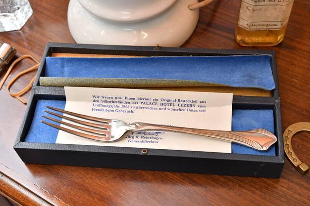 Diese Gabel ist 110 Jahre alt – und aus Silber.