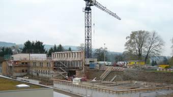 Hier entsteht das neue Oberstufenzentrum Rohrdorferberg. ZVG