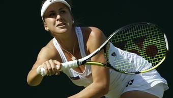 Belinda Bencic hatte eine schwierige Startaufgabe zu bewältigen