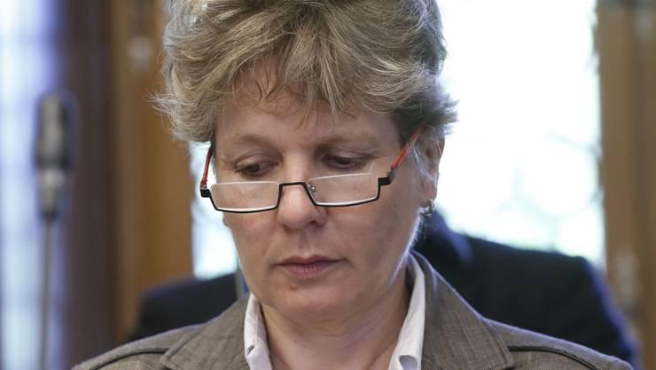 Brigit Wyss, Co-Präsidentin der Grünen